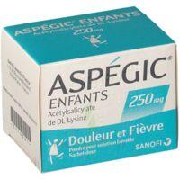 Aspegic Enfants 250, Poudre Pour Solution Buvable En Sachet-dose à SAINT-GEORGES-SUR-BAULCHE
