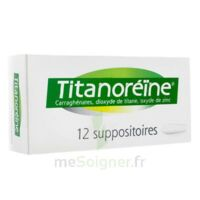 Titanoreine Suppositoires B/12 à SAINT-GEORGES-SUR-BAULCHE