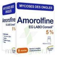 Amorolfine Eg 5 % V Ongles Médicamenteux 1fl/2,5ml+10 Spat à SAINT-GEORGES-SUR-BAULCHE