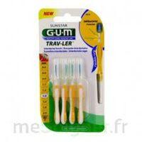 Gum Trav - Ler, 1,3 Mm, Manche Jaune , Blister 4 à SAINT-GEORGES-SUR-BAULCHE