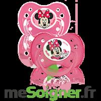 Dodie Disney Sucette Anatomique Silicone +6mois Minnie Lot/2 à SAINT-GEORGES-SUR-BAULCHE