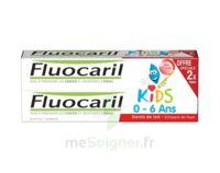 Fluocaril Kids Gel Dentifrice Fraise 0/6ans 2*50ml à SAINT-GEORGES-SUR-BAULCHE