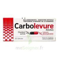 Carbolevure Gélules Adulte Plq/30 à SAINT-GEORGES-SUR-BAULCHE