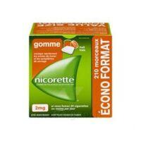Nicorette 2 Mg Gomme à Mâcher Médicamenteuse Sans Sucre Fruits Plq/210 à SAINT-GEORGES-SUR-BAULCHE