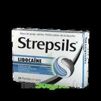 Strepsils Lidocaïne Pastilles Plq/24 à SAINT-GEORGES-SUR-BAULCHE