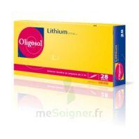 Oligosol Lithium Solution Buvable En Ampoule Ou En Récipient Unidose 28amp/2ml à SAINT-GEORGES-SUR-BAULCHE
