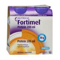 Fortimel Protein Nutriment Caramel 4 Bouteilles/200ml à SAINT-GEORGES-SUR-BAULCHE