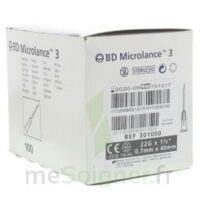 Bd Microlance 3, G22 1 1/2, 0,7 M X 40 Mm, Noir  à SAINT-GEORGES-SUR-BAULCHE