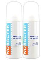 Nobacter Mousse à Raser Peau Sensible 2*150ml à SAINT-GEORGES-SUR-BAULCHE