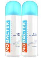 Nobacter Gel De Rasage Peau Sensible 2*150ml à SAINT-GEORGES-SUR-BAULCHE