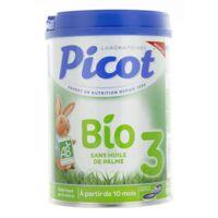 Picot Bio 3 Lait En Poudre 800g