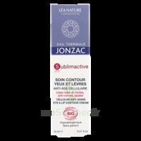 Jonzac Eau Thermale Sublimactive Crème Soin Contour Yeux Lèvres Jeunesse Immédiate 15ml à SAINT-GEORGES-SUR-BAULCHE