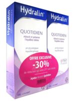 Hydralin Quotidien Gel Lavant Usage Intime 2*200ml à SAINT-GEORGES-SUR-BAULCHE