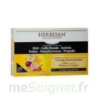 Herbesan Système Immunitaire 30 Ampoules à SAINT-GEORGES-SUR-BAULCHE