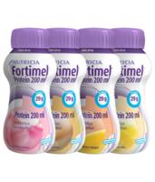 Fortimel Protein Nutriment Multi Saveurs Caramel/vanille/fraise/mangue 4 Bouteilles/200ml à SAINT-GEORGES-SUR-BAULCHE