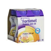 Fortimel Protein Sensation Chaude Nutriment Tropical Gingembre 4 Bouteilles/200ml à SAINT-GEORGES-SUR-BAULCHE