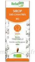 Herbalgem Sirop Bio Des Chantres 150ml à SAINT-GEORGES-SUR-BAULCHE