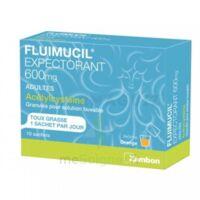 Fluimucil Expectorant Acetylcysteine 600 Mg Glé S Buv Adultes 10sach à SAINT-GEORGES-SUR-BAULCHE
