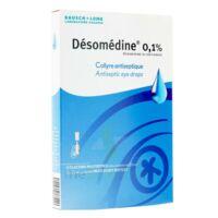 Desomedine 0,1 % Collyre Sol 10fl/0,6ml à SAINT-GEORGES-SUR-BAULCHE