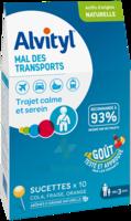 Alvityl Sucette Mal Des Transports B/10 à SAINT-GEORGES-SUR-BAULCHE