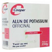 Cooper Alun Potassium Poudre B/250g à SAINT-GEORGES-SUR-BAULCHE