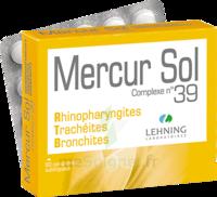 Lehning Mercur Sol Complexe N°39 Comprimés Sublinguals B/60 à SAINT-GEORGES-SUR-BAULCHE