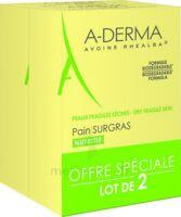 Aderma Les Indispensables Pain Surgras Duo 2x100g à SAINT-GEORGES-SUR-BAULCHE