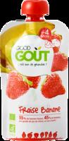 Good Goût Alimentation Infantile Fraise Banane Gourde/120g à SAINT-GEORGES-SUR-BAULCHE