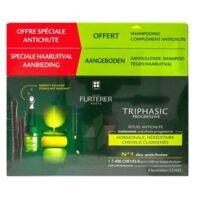 René Furterer Triphasic Progressive Sérum Antichute Coffret 8 Flacons X 5,5ml + Shampoing Stimulant 100 Ml à SAINT-GEORGES-SUR-BAULCHE