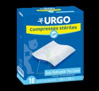 Urgo Compresse Stérile 10x10cm 10 Sachets/2 à SAINT-GEORGES-SUR-BAULCHE