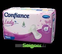 Confiance Lady Protection anatomique incontinence 4 gouttes Sachet/14 à SAINT-GEORGES-SUR-BAULCHE