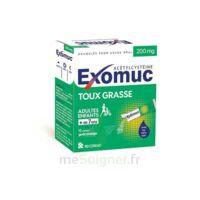 Exomuc 200 Mg, Granulés Pour Usage Oral En Sachet 15 Sachets/2g à SAINT-GEORGES-SUR-BAULCHE