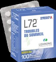 Lehning L72 Comprimés Orodispersibles Plq Pvc/pvdc/alu/100 à SAINT-GEORGES-SUR-BAULCHE