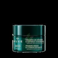 Nuxe Bio Masque Détoxifiant Eclat 50ml à SAINT-GEORGES-SUR-BAULCHE