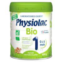 Physiolac Bio 1 Lait En Poudre B/800g à SAINT-GEORGES-SUR-BAULCHE
