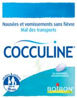 Boiron Cocculine Comprimés Orodispersibles B/40 à SAINT-GEORGES-SUR-BAULCHE